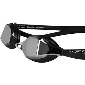 speedo Fastskin Speedsocket 2 Mirror Okulary pływackie, black/mirror
